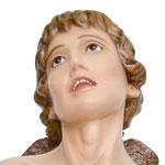statua San Sebastiano cm 125 -volto
