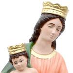 statua Madonna di Pompei cm 50 - volto