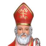 busto San Biagio cm 30 - volto