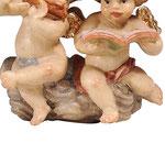 statua coppia angioletti - piedi