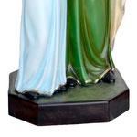 vendita statua Sant ' Anna cm. 140 in vetroresina - base