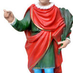 statua San Vito cm 30 -mani