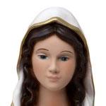 statua Madonna di Lourdes cm 30 - volto