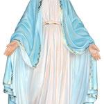 statua Madonna Miracolosa cm 130 - mani