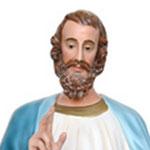 statua San Luca Evangelista cm 160 - volto
