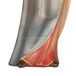 statua Madonna della speranza in legno - base
