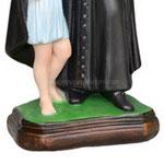 statua San Vincenzo de Paoli cm 30 -base