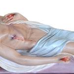 statua Gesù morto cm 115 -mani