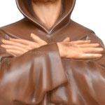 statua San Francesco d' Assisi cm. 82 - mani
