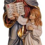 statua Sant' Anna in legno - base - busto