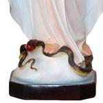 statua Madonna Miracolosa cm 180 - base