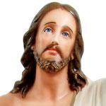 statua Gesù risorto cm 130 -volto