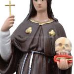statua Santa Rosalia cm 30 -mani