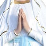 statua Madonna di Lourdes cm 130 - mani