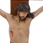 statua Cristo in croce cm 40 -volto