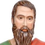 statua San Paolo cm 100 -volto