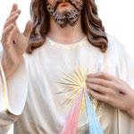 statua Gesù Misericordioso cm 120 -mani