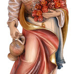 statua Santa Elisabetta in legno - busto