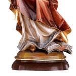 statua Santa Barbara in legno - base