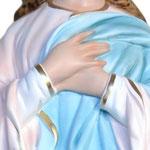 statua Madonna Assunta al Murillo cm 130 - Mani