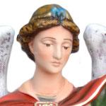 statua San Michele cm 63 - volto