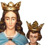 statua Maria Ausiliatrice cm 130 - volto