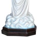 statua Madonna di Medjugorje cm 130 - base