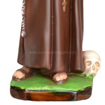 statua San Francesco d' Assisi cm. 42 - base