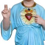 statua SS nome di Gesù cm 85 -mani