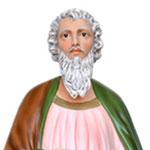 statua San Matteo Evangelista cm 160 - volto
