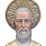 statua San Nicola cm 65 -volto