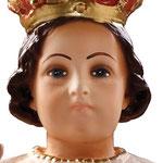 statua Gesù Bambino di Praga cm 45 -volto