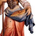 statua Santa Notburga in legno - busto