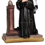 statua Santa Rita in ginocchio cm 40 -base