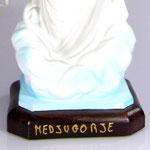 statua Madonna di Medjugorje cm 40 illuminata - base