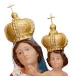 statua Madonna delle Grazie cm 47 - volto