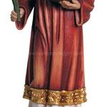 statua Santo Stefano in legno - busto
