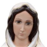 statua Rosa Mistica cm 47 - volto