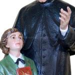 statua San Giovanni Bosco e Domenico Savio cm 118 - mani