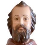 statua San Ciro cm 35 - volto