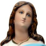 statua Madonna Assunta al Murillo cm 63 - Volto