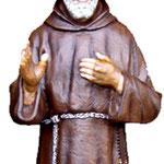 statua San Padre Pio cm 135 -mani