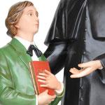 statua San Giovanni Bosco e Domenico Savio cm 170 - mani