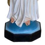 statua Sacro Cuore di Gesù braccia aperte cm 200 -base