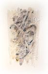 455 ABC (1988), 46x63 cm, Aquarell, Tusche, Fixogum Sepiatöne