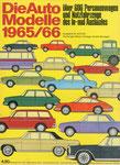 702 Katalog Automodelle 1965/66, 33x24 cm, Druck