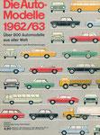 700 Katalog Automodelle 1962/63, 33x24 cm, Druck