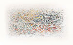 052 Passaclia für großes Orchester (1996), 58x43 cm, Tempera mit  Deckweiß, Querformat
