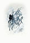 659 Element Wasser (1991), 30x40 cm, Tuschefeder