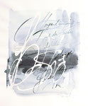 005 Morgendämmerung nach dem frühen Nebeldunst (1989), 23x27 cm, Aquarell Blautöne
